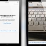 El nuevo iOS 7 permite canjear tarjetas de regalo de iTunes con la cámara