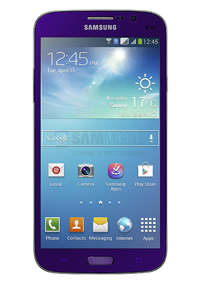 Samsung Galaxy Mega 5.8 Plum Purple morado