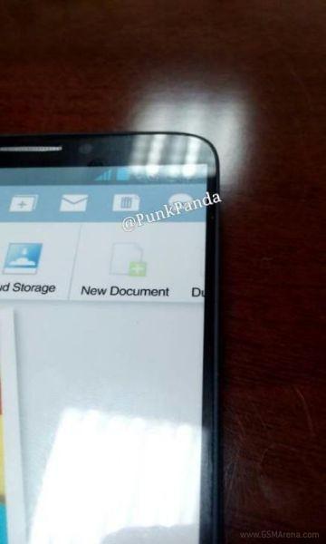 El Galaxy Note III se filtra nueva imagen se nota el diseño del S4