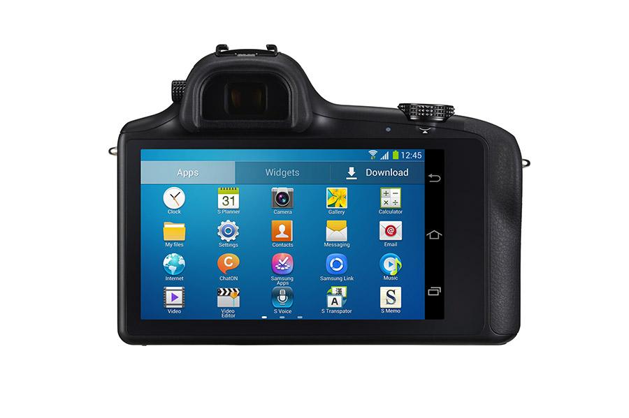 Samsung Galaxy NX la cámara 3G/4G pantalla