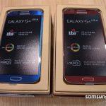 Samsung Galaxy S4 LTE-A en color azul y rojo se deja ver en unboxing