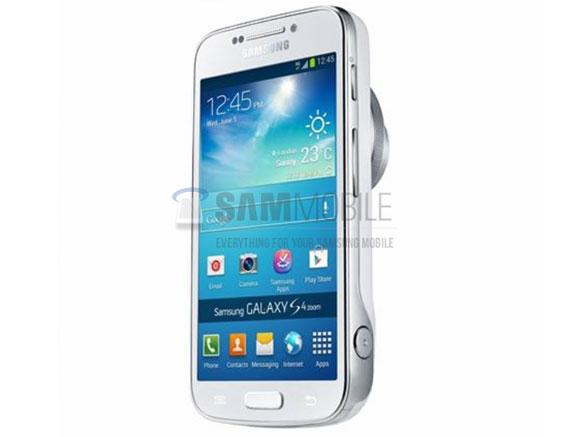 Samsung  Galaxy S4 Zoom oficial filtrada