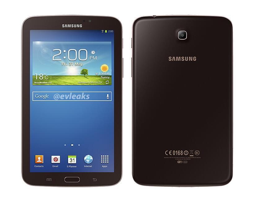Galaxy Tab 3 7.0 color oro marrón gold-brown