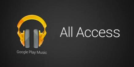 Google All Access, servicio de streaming