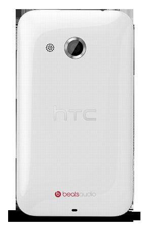 HTC Desire 200 oficial color blanco cámara
