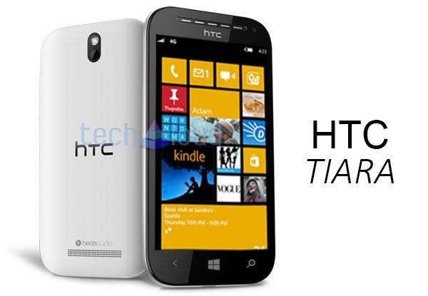 HTC Tiara con Windows Phone 8