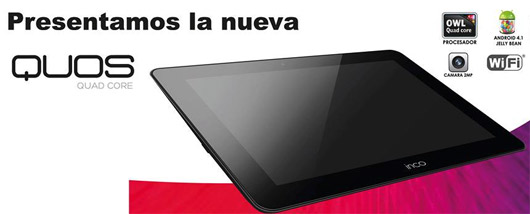 Inco Quos tablet quad-core