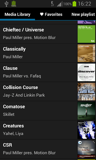 Inline Music Player