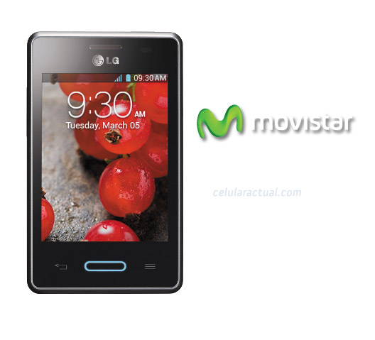 LG Optimus L3X  en Movistar México