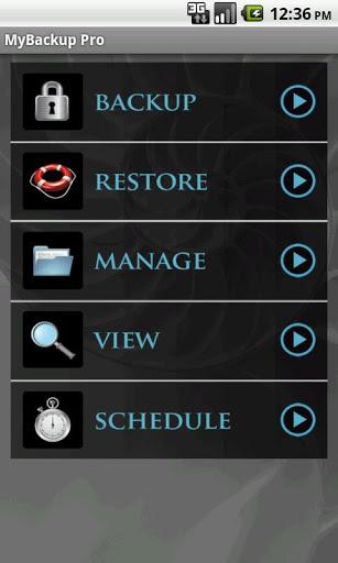 App My Backup Pro