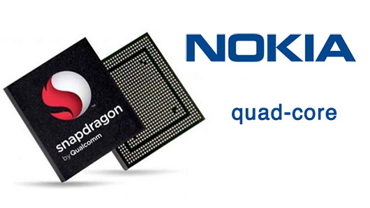 Nokia Quad-core Qualcomm procesador