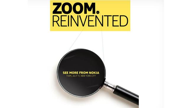 Nokia Zoom Reinvented invitation