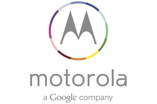 Nuevo Logo Motorola a Google company multicolor