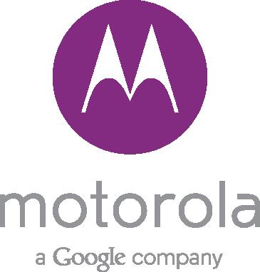 Nuevo Logo Motorola a Google company purple morado