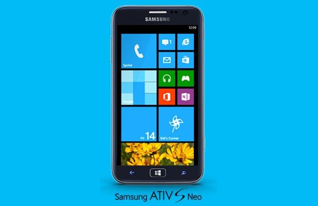 Samsung Ativ S Neo con Windows Phone 8