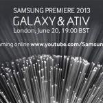 Samsung evento Galaxy & Ativ será transmitido en Youtube