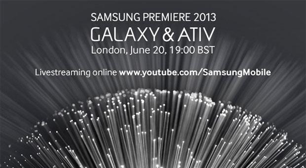 Samsung evento Galaxy & Ativ