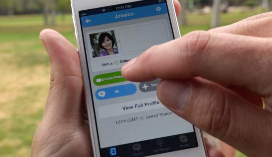 Skype con Video mensajes