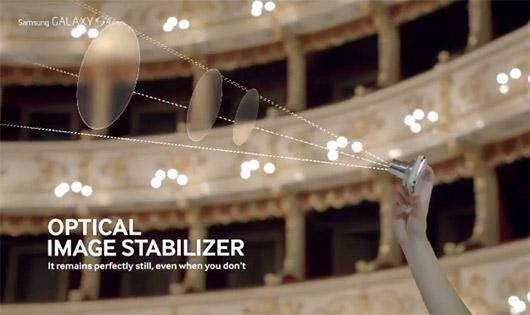 Galaxy S4 Zoom en video comercial