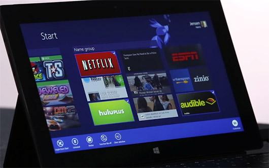 Video Microsoft Windows 8.1