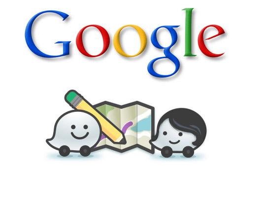 Waze Google logo
