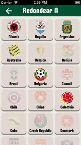 App White Soccer