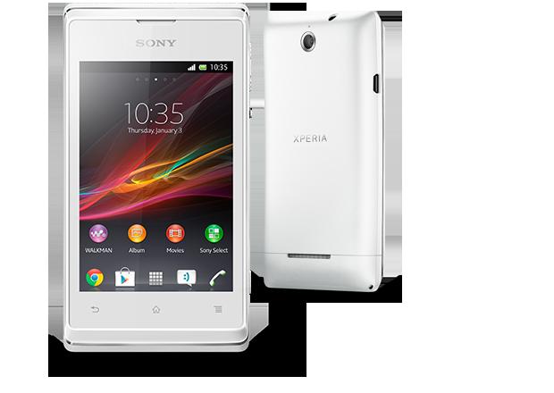 Sony Xperia E ya en México con Telcel color blanco
