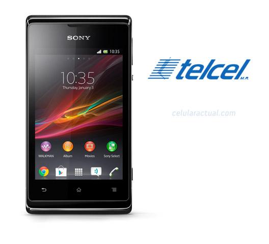 Sony Xperia E en México con Telcel