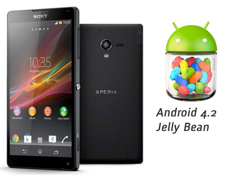 Sony Xperia ZL con Android 4.2 Jelly Bean