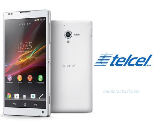 Sony Xperia ZL color blanco Telcel México