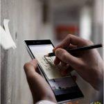 El Sony Xperia ZU phablet se muestra en imagen promocional y en directo