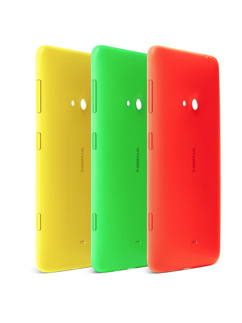 """Nokia Lumia 625 con 4.7"""" y Windows Phone 8 cases intercambiables"""