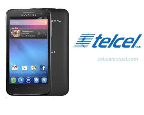 Alcatel  One Touch X'Pop en México con Telcel