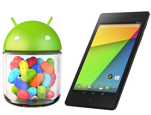 Android 4.3 Jelly Bean y Nexus 7 HD