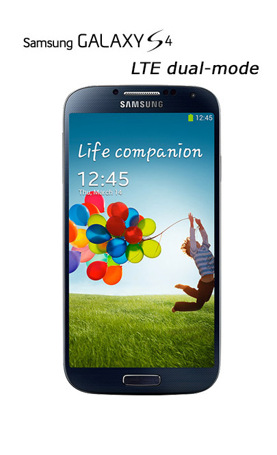 Samsung Galaxy S4 LTE dual-mode