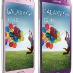 Samsung Galaxy S4 en color Morado y Rosa se estrenan en Taiwán