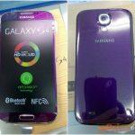 Samsung Galaxy S4 se deja ver en color Púrpura (Purple Mirage)