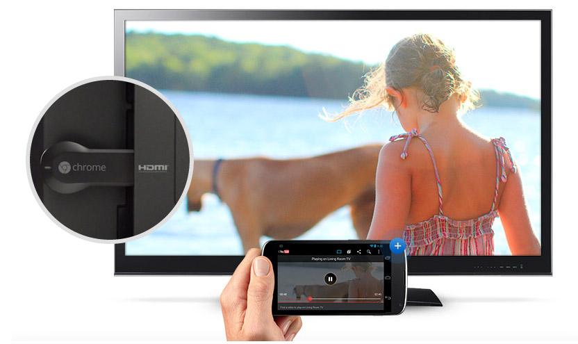 Chromecast de Google HDMI conexión