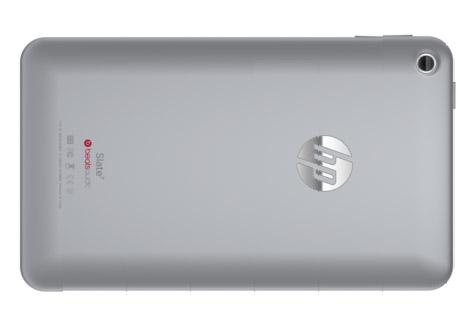 HP Tablet Slate 7 en México color plata 16 GB trasera cámara Beats Audio