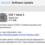 Apple libera tercera beta de iOS 7