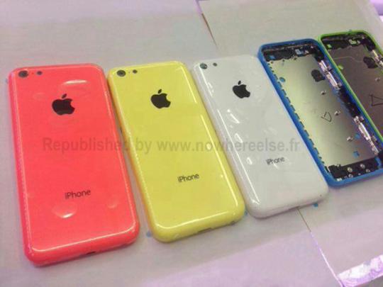 iPhone de color
