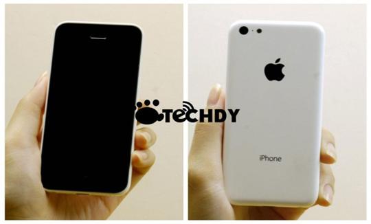 Imágenes muestran más de cerca el iPhone de bajo costo