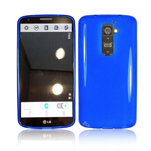 LG Optimus G2 cubierta cover azul