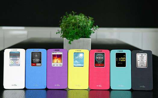LG QuickWindow flip covers para el Optimus G2