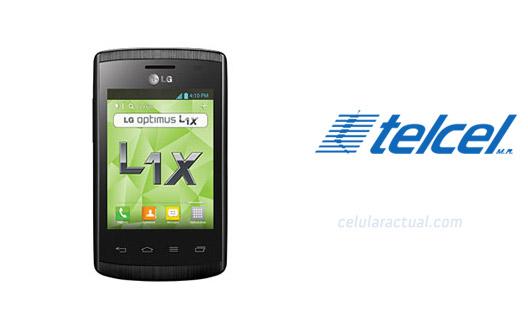 LG Optimus L1X E410G en México con Telcel