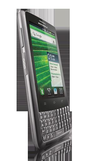 Motorola XT627 Kairos de lado pantalla