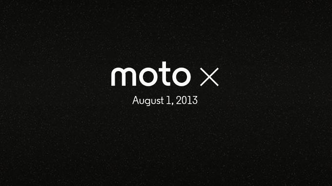 Motorola Moto X teaser august 12013