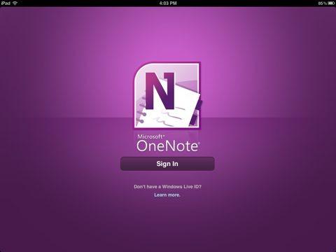 OneNote se actualiza