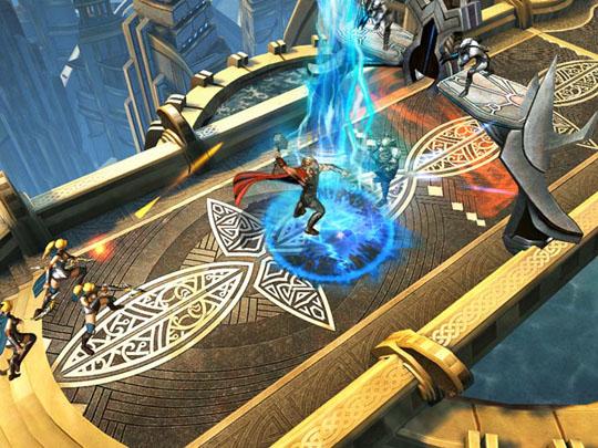Thor The Dark World de Gameloft