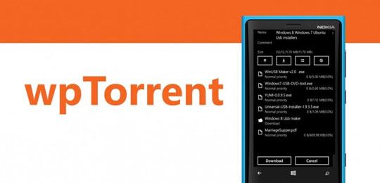 App wPtorrent
